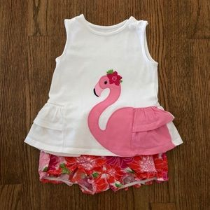 Gymboree Flamingo 2-piece Set